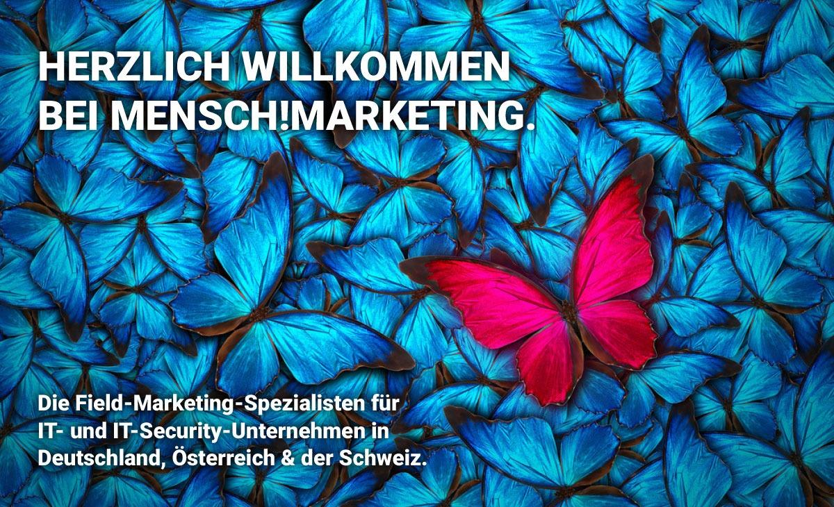 Herzlich Willkommen bei Mensch!Marketing
